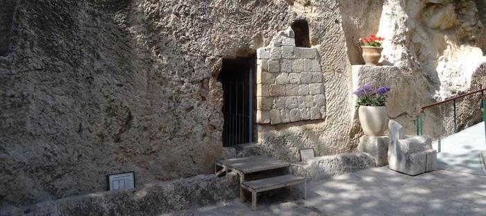 Jesus Grab Gefunden