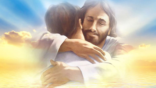 Jesus Umarmung