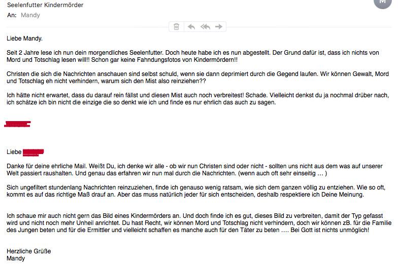 SeelenFutter Mail