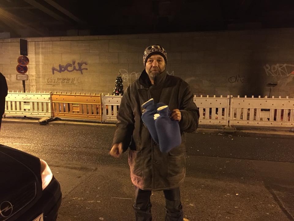 Werner obdachlos