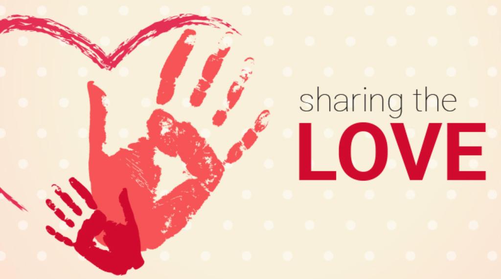 Liebe teilen