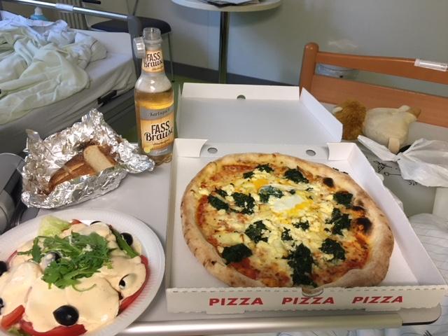 Krankenhaus Pizza