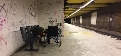 Obdachloseaktion